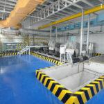 Installation of Sludge Conveyor